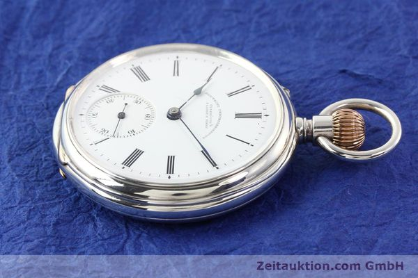 Used luxury watch A. Lange & Söhne ALS Taschenuhr silver manual winding  | 141051 03