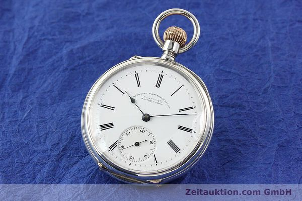 Used luxury watch A. Lange & Söhne ALS Taschenuhr silver manual winding  | 141051 04