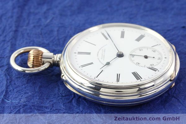Used luxury watch A. Lange & Söhne ALS Taschenuhr silver manual winding  | 141051 05