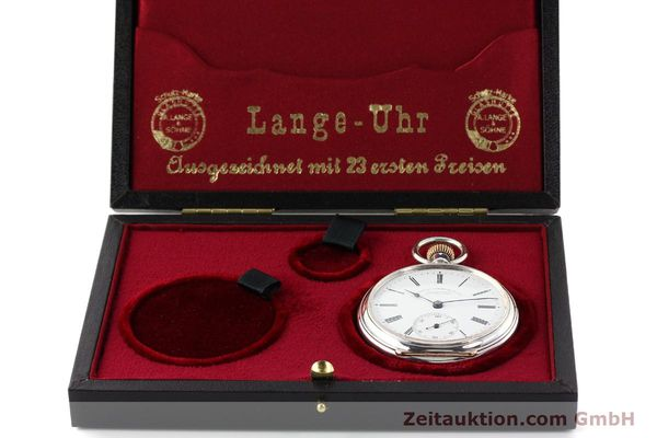 Used luxury watch A. Lange & Söhne ALS Taschenuhr silver manual winding  | 141051 07