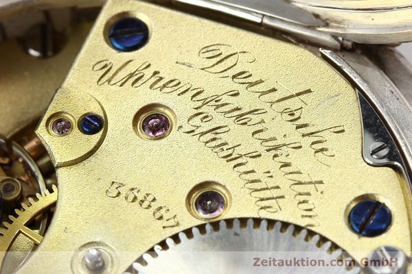 Used luxury watch A. Lange & Söhne ALS Taschenuhr silver manual winding  | 141051 11
