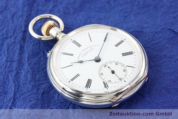 Used luxury watch A. Lange & Söhne ALS Taschenuhr silver manual winding  | 141051 16