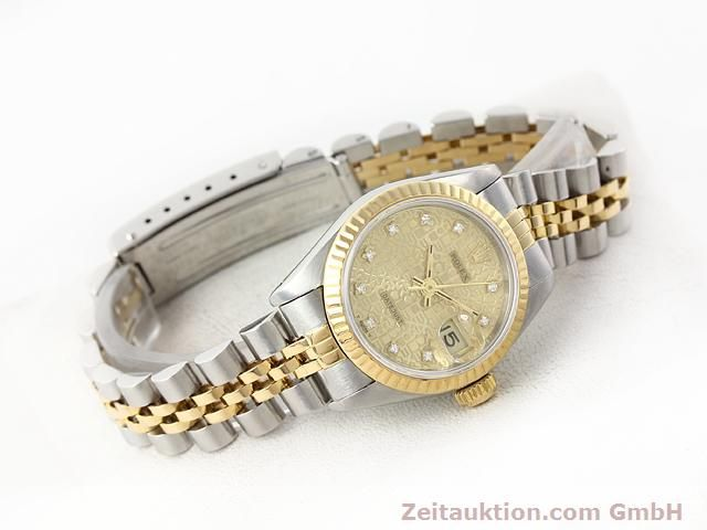 Used luxury watch Rolex Lady Datejust steel / gold automatic Kal. 2135 Ref. 69173  | 141053 03