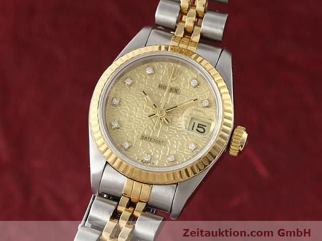 Used luxury watch Rolex Lady Datejust steel / gold automatic Kal. 2135 Ref. 69173  | 141053 04