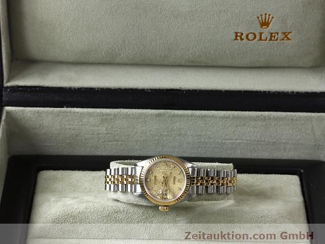 Used luxury watch Rolex Lady Datejust steel / gold automatic Kal. 2135 Ref. 69173  | 141053 07