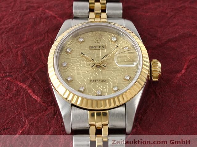 Used luxury watch Rolex Lady Datejust steel / gold automatic Kal. 2135 Ref. 69173  | 141053 15