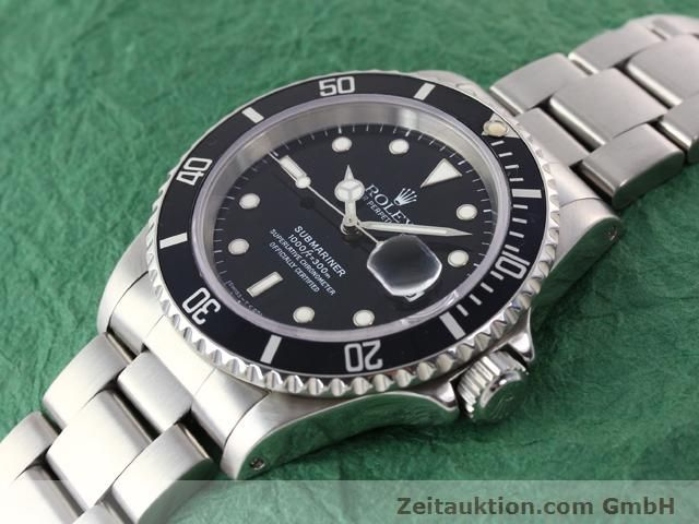 Used luxury watch Rolex Submariner steel automatic Kal. 3135 Ref. 16610  | 141055 01