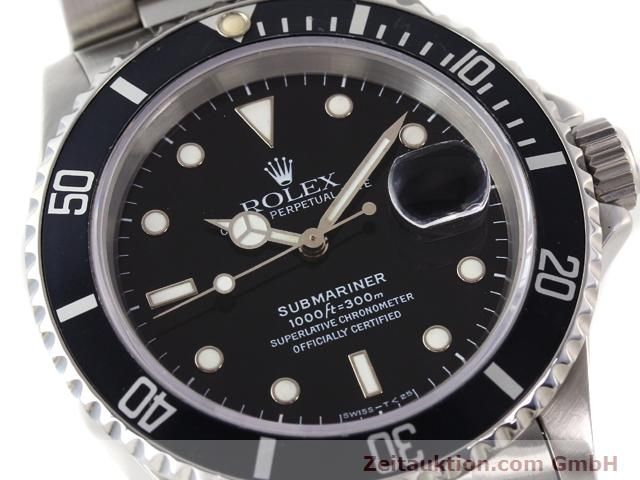 Used luxury watch Rolex Submariner steel automatic Kal. 3135 Ref. 16610  | 141055 02