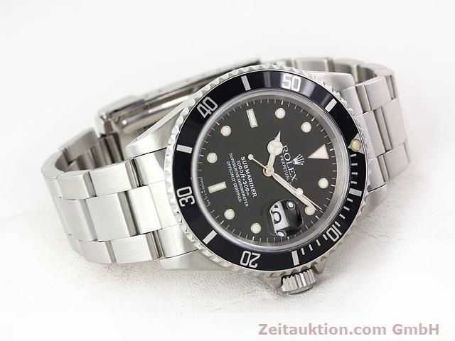 Used luxury watch Rolex Submariner steel automatic Kal. 3135 Ref. 16610  | 141055 03