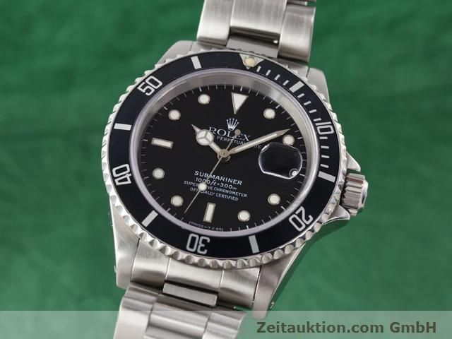 Used luxury watch Rolex Submariner steel automatic Kal. 3135 Ref. 16610  | 141055 04