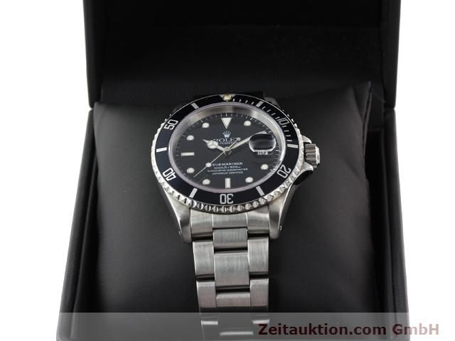 Used luxury watch Rolex Submariner steel automatic Kal. 3135 Ref. 16610  | 141055 07