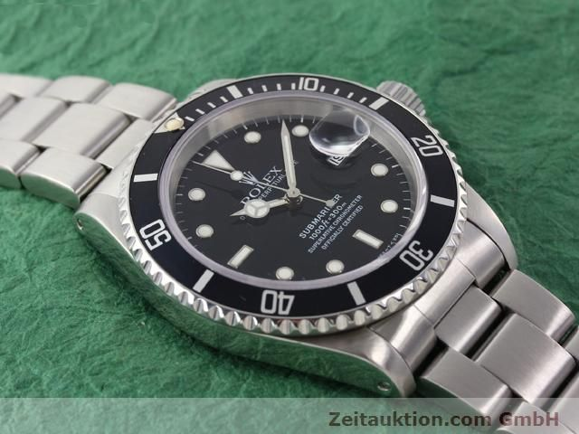 Used luxury watch Rolex Submariner steel automatic Kal. 3135 Ref. 16610  | 141055 14