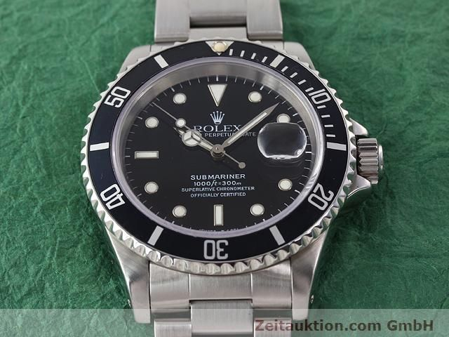 Used luxury watch Rolex Submariner steel automatic Kal. 3135 Ref. 16610  | 141055 15