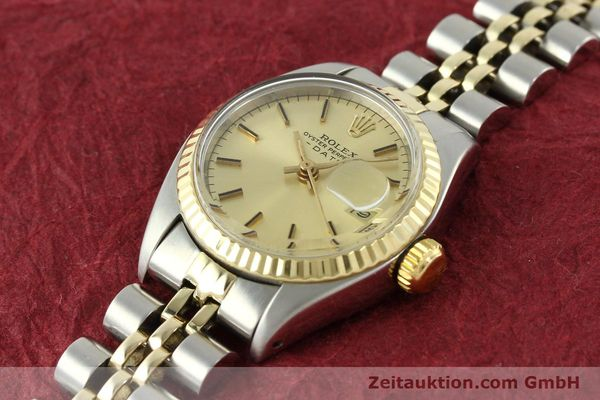 Used luxury watch Rolex Lady Date steel / gold automatic Kal. 2030 Ref. 6917  | 141057 01