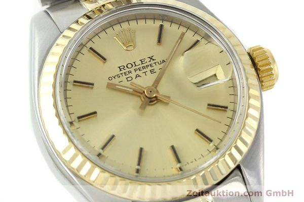 Used luxury watch Rolex Lady Date steel / gold automatic Kal. 2030 Ref. 6917  | 141057 02