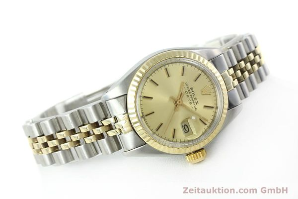 Used luxury watch Rolex Lady Date steel / gold automatic Kal. 2030 Ref. 6917  | 141057 03