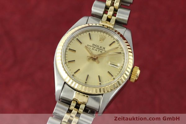 Used luxury watch Rolex Lady Date steel / gold automatic Kal. 2030 Ref. 6917  | 141057 04
