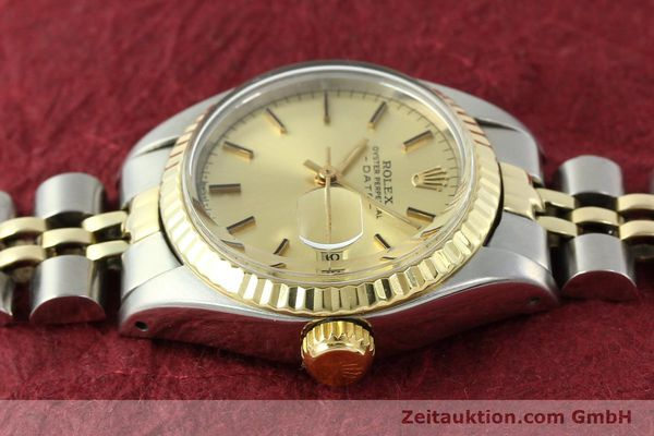 Used luxury watch Rolex Lady Date steel / gold automatic Kal. 2030 Ref. 6917  | 141057 05