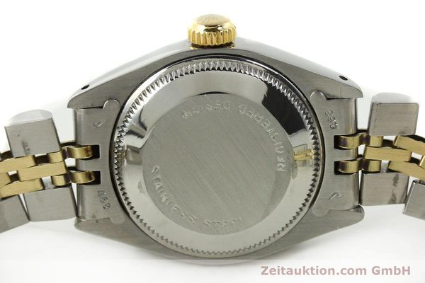 Used luxury watch Rolex Lady Date steel / gold automatic Kal. 2030 Ref. 6917  | 141057 08