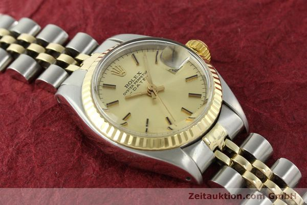 Used luxury watch Rolex Lady Date steel / gold automatic Kal. 2030 Ref. 6917  | 141057 15