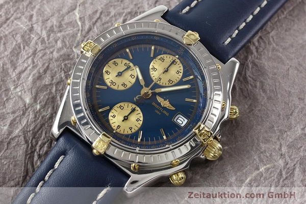 Used luxury watch Breitling Chronomat gilt steel automatic Kal. ETA 7750 Ref. B130501  | 141061 01