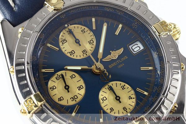 Used luxury watch Breitling Chronomat gilt steel automatic Kal. ETA 7750 Ref. B130501  | 141061 02