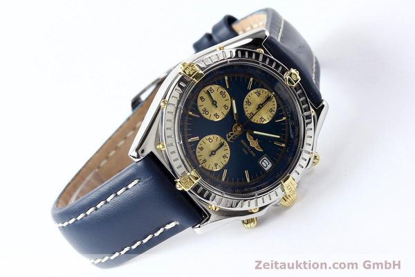 Used luxury watch Breitling Chronomat gilt steel automatic Kal. ETA 7750 Ref. B130501  | 141061 03