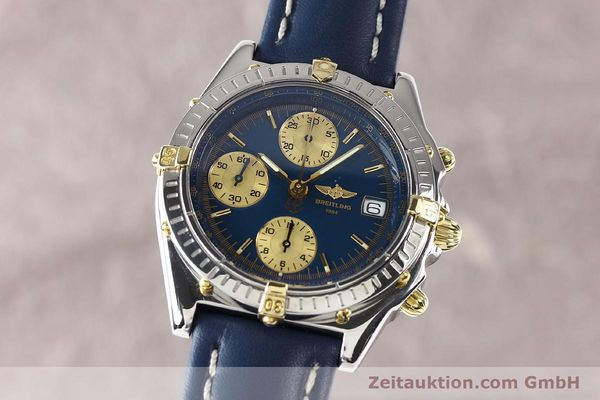 Used luxury watch Breitling Chronomat gilt steel automatic Kal. ETA 7750 Ref. B130501  | 141061 04