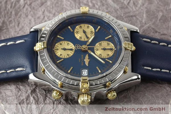 Used luxury watch Breitling Chronomat gilt steel automatic Kal. ETA 7750 Ref. B130501  | 141061 05