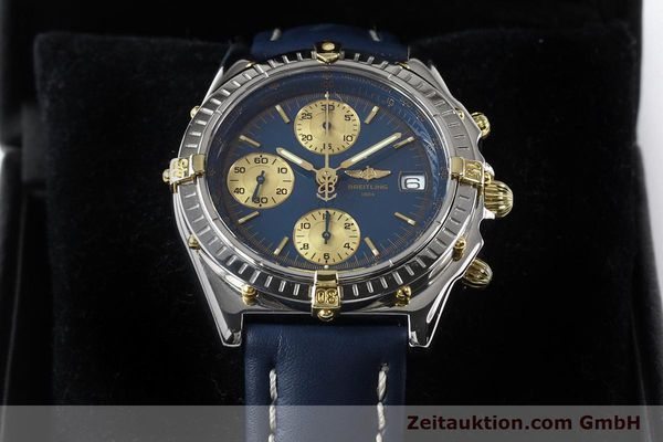 Used luxury watch Breitling Chronomat gilt steel automatic Kal. ETA 7750 Ref. B130501  | 141061 07