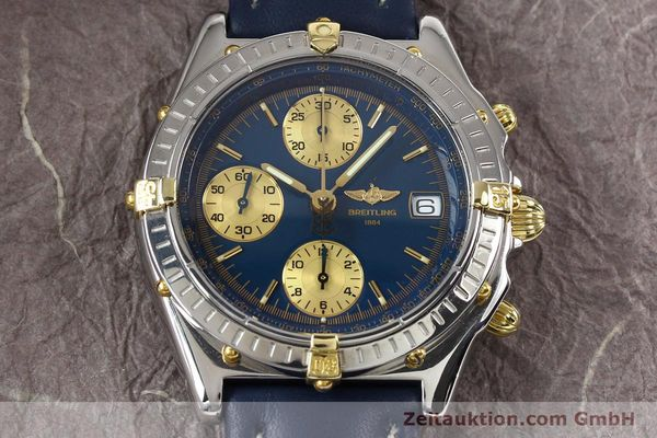 Used luxury watch Breitling Chronomat gilt steel automatic Kal. ETA 7750 Ref. B130501  | 141061 14