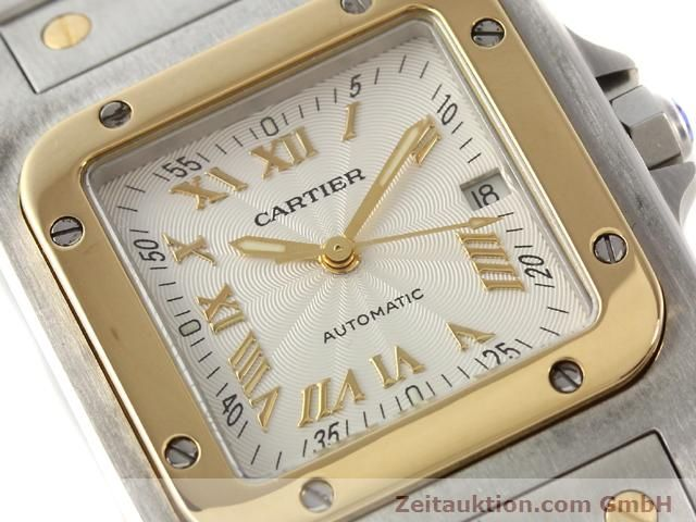 Used luxury watch Cartier Santos steel / gold automatic Kal. 120 (ETA 2000-1)  | 141063 02