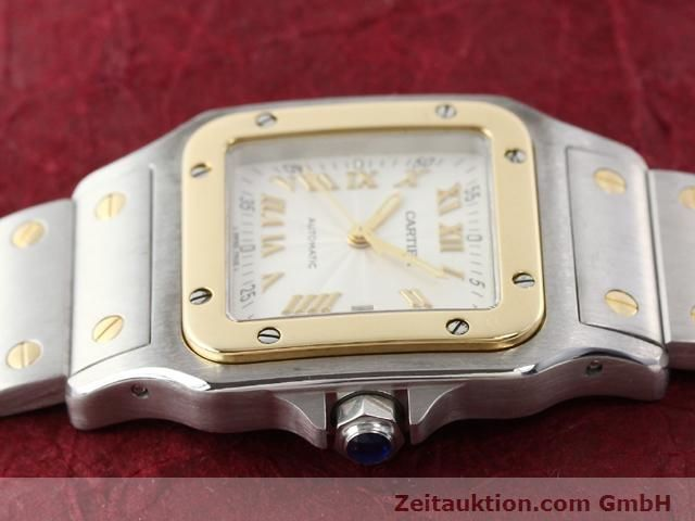 Used luxury watch Cartier Santos steel / gold automatic Kal. 120 (ETA 2000-1)  | 141063 05