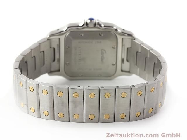 Used luxury watch Cartier Santos steel / gold automatic Kal. 120 (ETA 2000-1)  | 141063 11