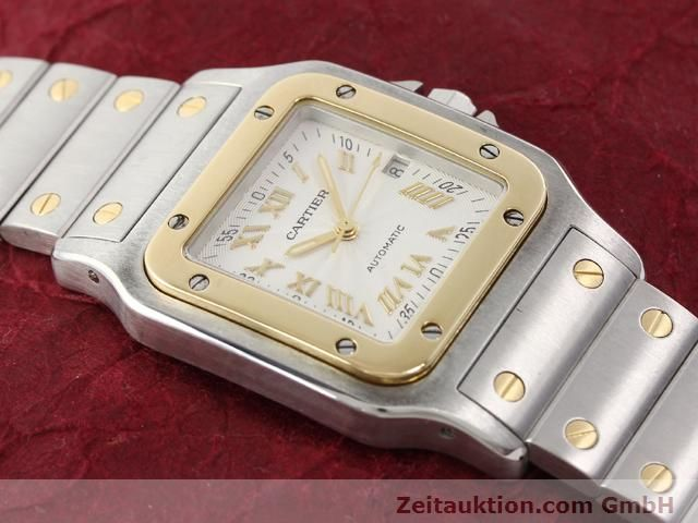 Used luxury watch Cartier Santos steel / gold automatic Kal. 120 (ETA 2000-1)  | 141063 13