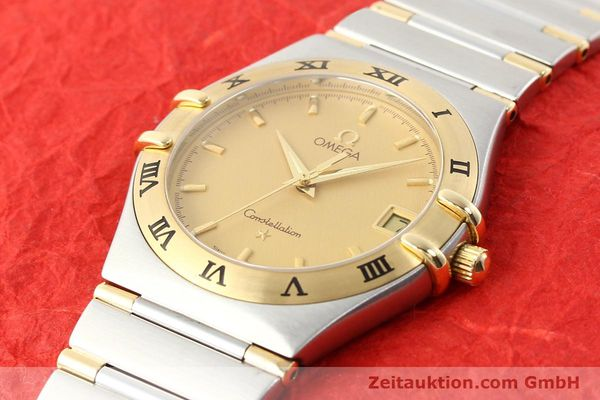 Used luxury watch Omega Constellation steel / gold quartz Kal. 1532 Ref. 396.1201  | 141066 01