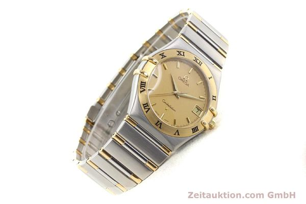 Used luxury watch Omega Constellation steel / gold quartz Kal. 1532 Ref. 396.1201  | 141066 03