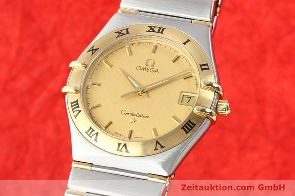 Used luxury watch Omega Constellation steel / gold quartz Kal. 1532 Ref. 396.1201  | 141066 04