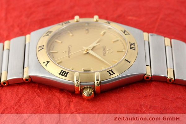 Used luxury watch Omega Constellation steel / gold quartz Kal. 1532 Ref. 396.1201  | 141066 05