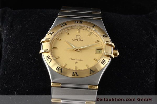Used luxury watch Omega Constellation steel / gold quartz Kal. 1532 Ref. 396.1201  | 141066 07