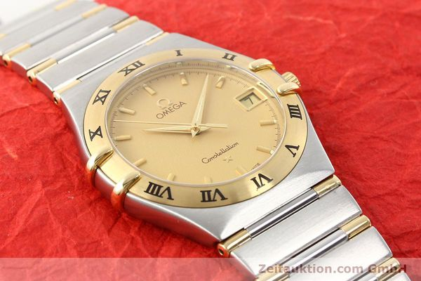 Used luxury watch Omega Constellation steel / gold quartz Kal. 1532 Ref. 396.1201  | 141066 14