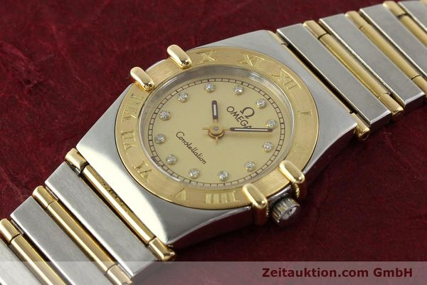 Used luxury watch Omega Constellation steel / gold quartz Kal. 1455 ETA 976001 Ref. 795.1080  | 141067 01