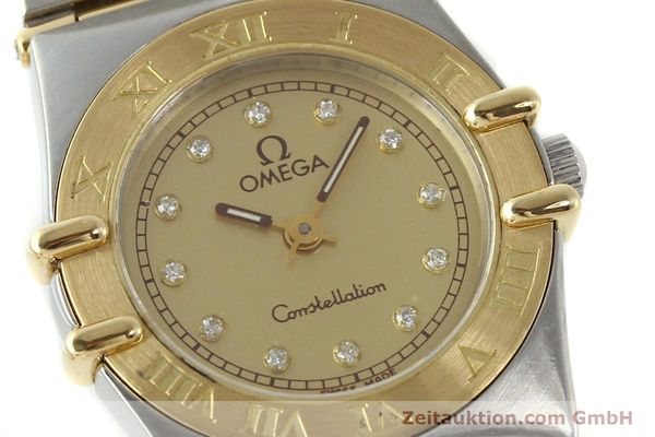 Used luxury watch Omega Constellation steel / gold quartz Kal. 1455 ETA 976001 Ref. 795.1080  | 141067 02