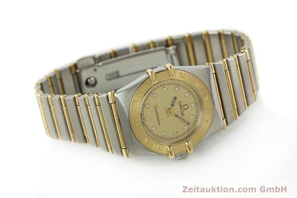 Used luxury watch Omega Constellation steel / gold quartz Kal. 1455 ETA 976001 Ref. 795.1080  | 141067 03