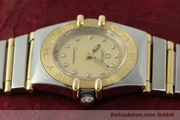 Used luxury watch Omega Constellation steel / gold quartz Kal. 1455 ETA 976001 Ref. 795.1080  | 141067 05