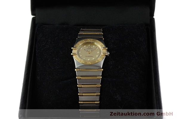 Used luxury watch Omega Constellation steel / gold quartz Kal. 1455 ETA 976001 Ref. 795.1080  | 141067 07