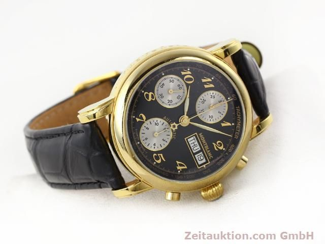Used luxury watch Montblanc Meisterstück gold-plated automatic Kal. 4810501 (ETA 7750) Ref. 7001  | 141068 03