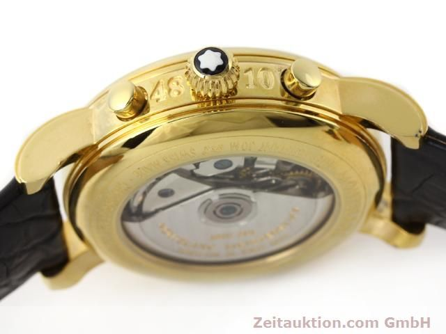 Used luxury watch Montblanc Meisterstück gold-plated automatic Kal. 4810501 (ETA 7750) Ref. 7001  | 141068 08