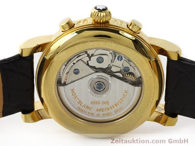 Used luxury watch Montblanc Meisterstück gold-plated automatic Kal. 4810501 (ETA 7750) Ref. 7001  | 141068 09