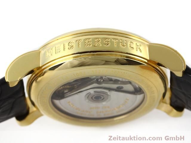 Used luxury watch Montblanc Meisterstück gold-plated automatic Kal. 4810501 (ETA 7750) Ref. 7001  | 141068 11